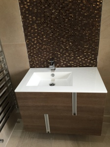 Wall Hung Basin in Whiteley