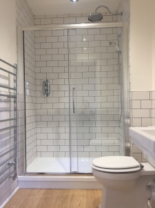 Traditional Tiles in shower