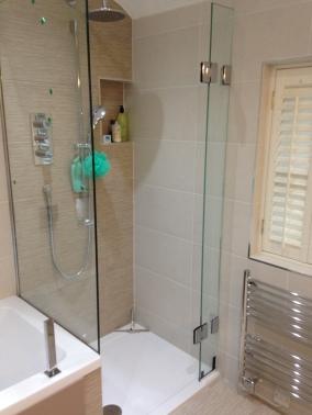 Frameless Bespoke Shower Cubicle